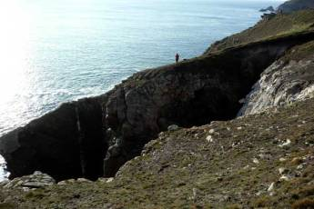 And just along from Feunteun Aod. This part of the coastal walk is not for the faint hearted!